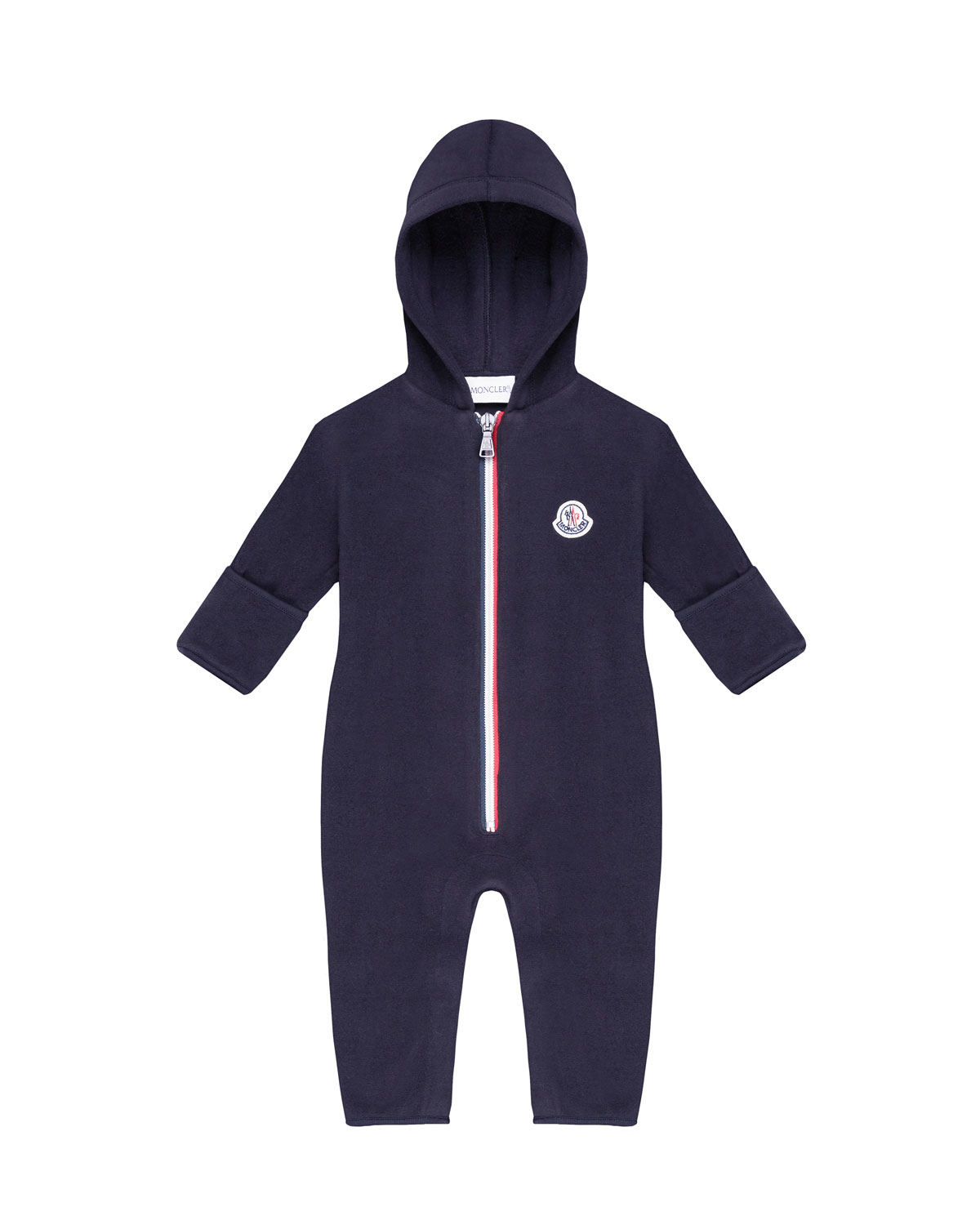04e1e7aa6a63 Moncler Hooded Zip-Front Coverall