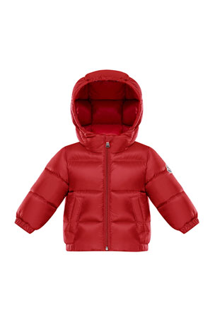Moncler New Macaire Hooded Puffer Jacket, 12M-3