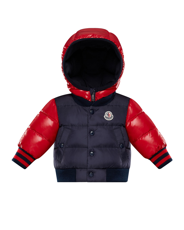 544ca5be07d6 Moncler Monieux Two-Tone Puffer Coat