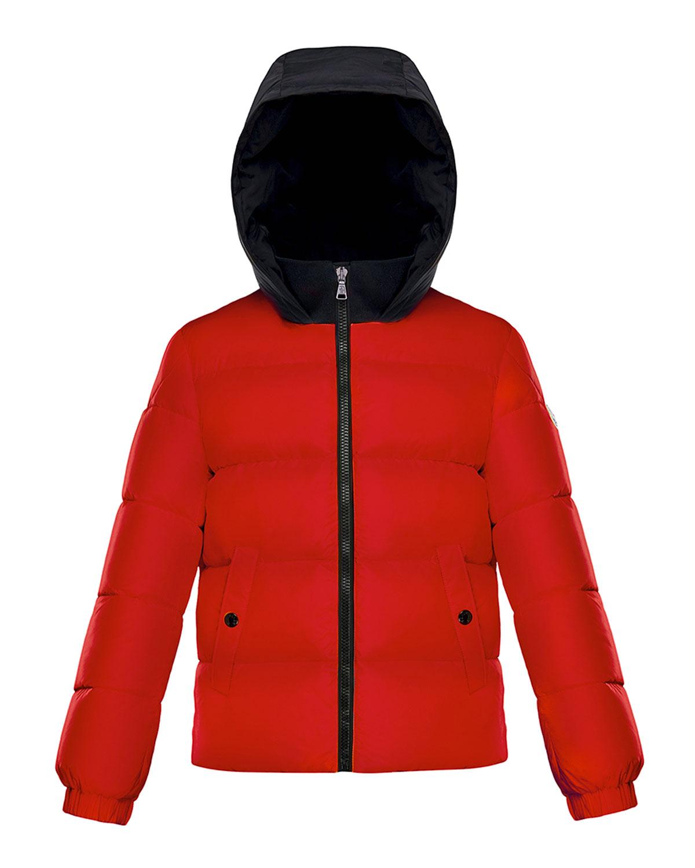 8aac25e82 Moncler Arthon Two-Tone Hooded Jacket