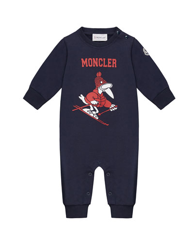 Logo Graphic Coverall, Size 3-24 Months