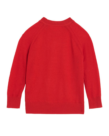 Flossie Cashmere Sweater, Size 4-14