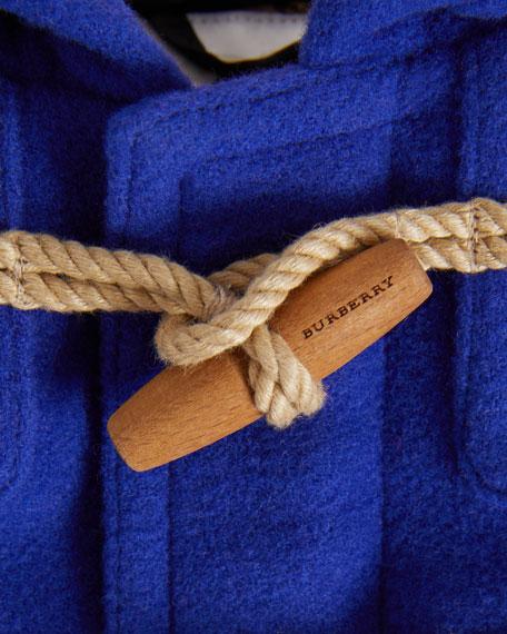 Brogan Virgin Wool Peacoat, Size 12M-3
