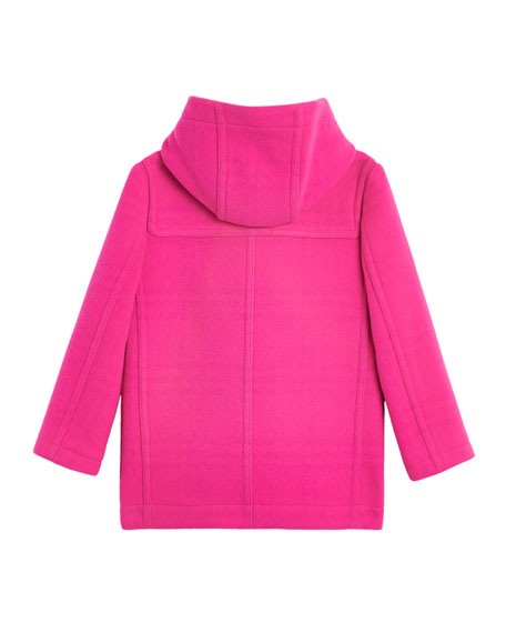 Burford Virgin Wool Peacoat, Size 4-14