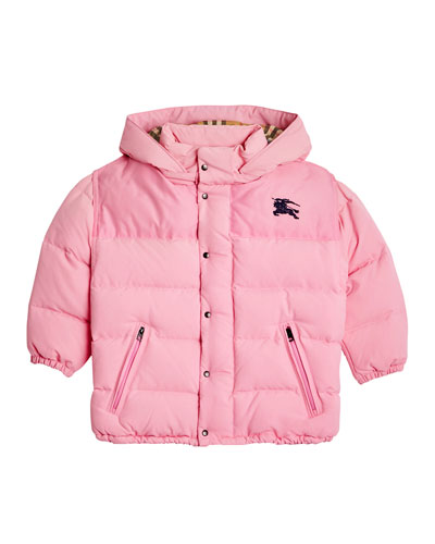 Ezra Hooded Puffer Coat, Size 4-14