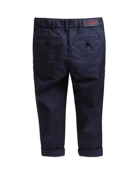Teo Cotton Twill Pants, Size 4-14
