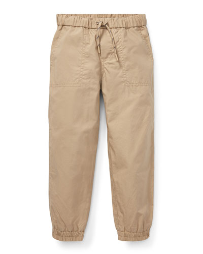 Cotton Jogger Pants, Size 2-4