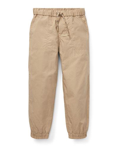 Cotton Jogger Pants, Size 5-7