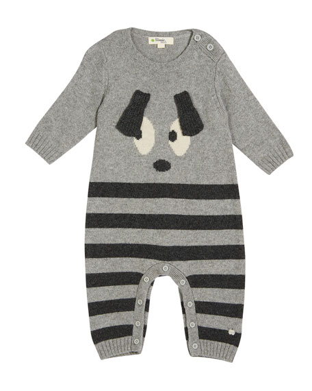 bonniemob Roxy Bunny Intarsia Coverall, Size 0-18 Months
