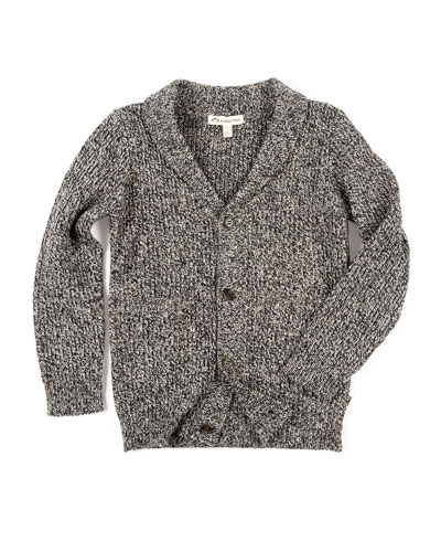 Shelby Shawl-Collar Cardigan Sweater, Size 2-10