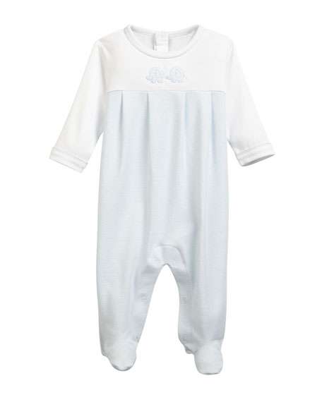 Kissy Kissy Trunk Mates Pima Footie Playsuit, Size
