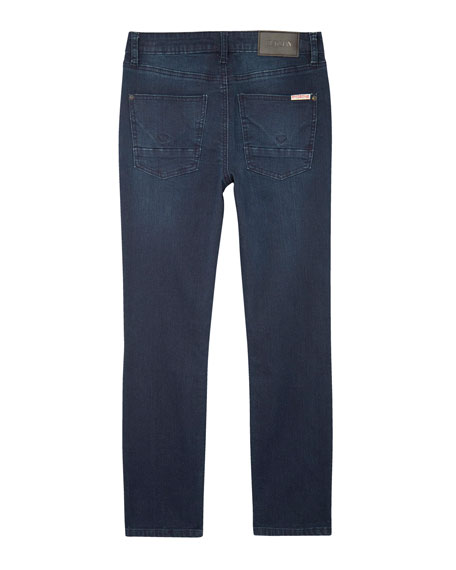 Jude Slim Skinny Knit Denim Jeans, Size 8-16