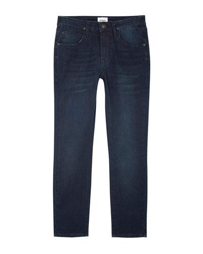 Jude Slim Skinny Knit Denim Jeans, Size 8-16