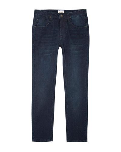 Jude Slim Skinny Knit Denim Jeans, Size 4-7