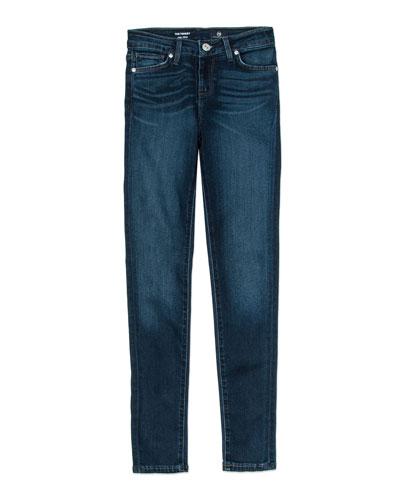Twiggy Imperial Blue Jetsetter Straight-Leg Denim Jeans, Size 4-6X