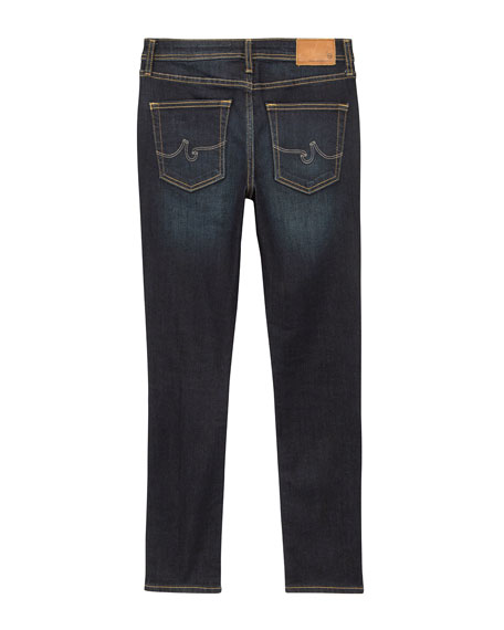 Boys' Kingston Roadside Slim Skinny Distressed Denim Jeans, Size 4-7