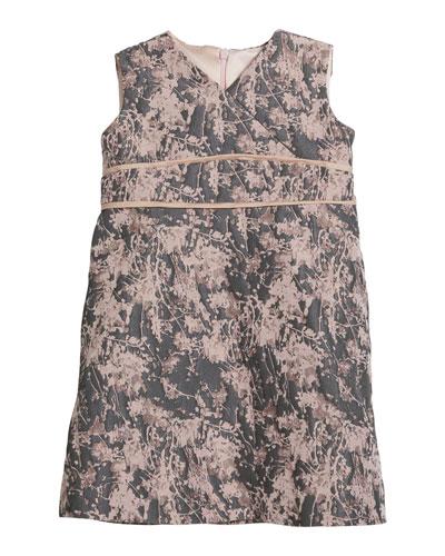Diamond Knit Sleeveless Dress, Size 2-6