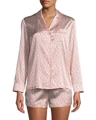 Ellie Leaping Short Pajama Set