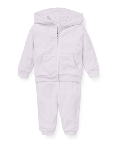 Zip-Up Hoodie w/ Matching Sweatpants, Size 6-24 Months