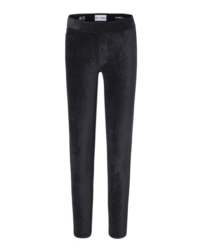 Candy Velvet Leggings, Size 7-16
