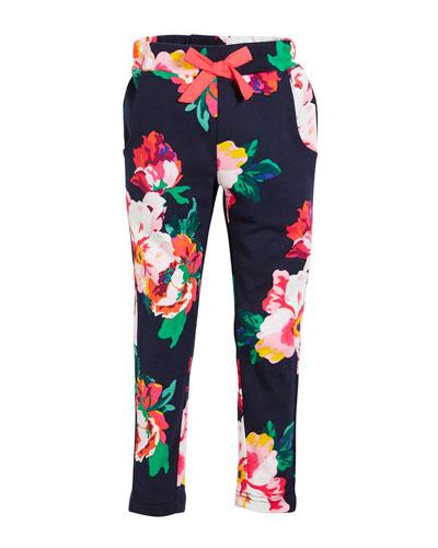 Jazz Floral-Print Pants, Size 2-6