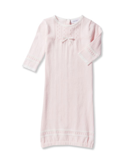 Take Me Home Knit Pointelle Gown, Size 0-3 Months