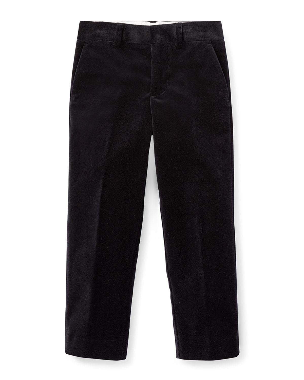 Newport Velvet Straight-Leg Pants, Size 2-4