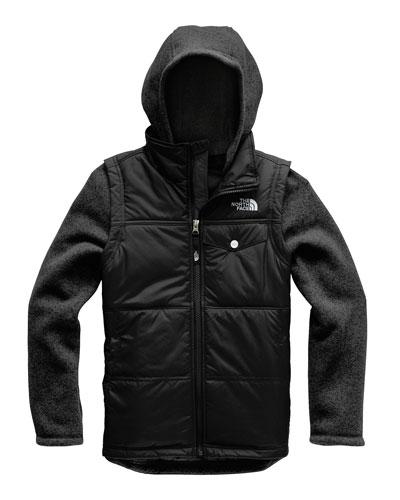 Gordon Lyons Mock-Vest Jacket  Size XXS-XL