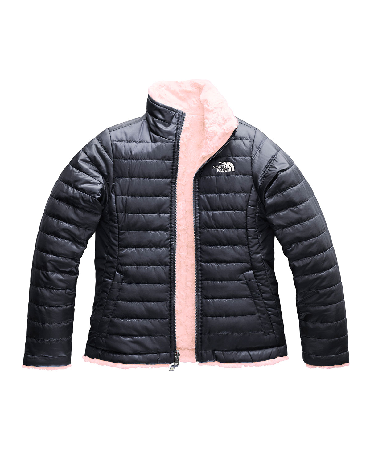 5f2e58772c The North Face Reversible Mossbud Swirl Jacket