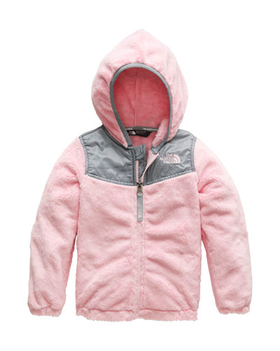 Oso Fleece Hooded Jacket, Size 2-4T