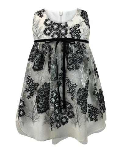 Sleeveless Lace Dress, Size 7-14