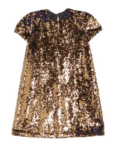 Faith Sequin Shift Dress, Size 8-16
