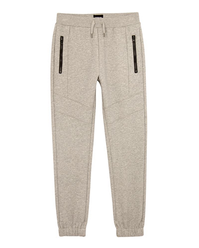 Future Zip-Pockets Jogger Pants, Size S-XL