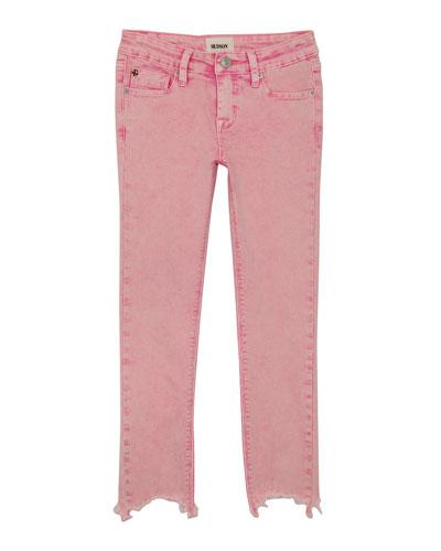 Wren Raw-Hem Skinny Jeans, Size 7-16
