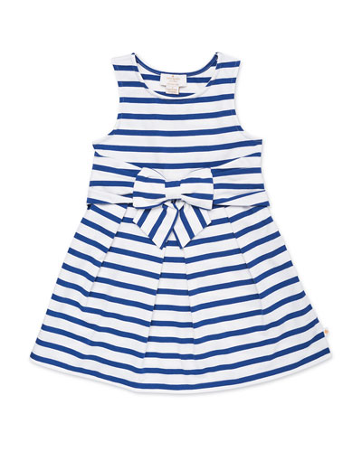 jillian striped sleeveless dress, size 2-6x