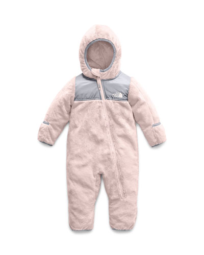 Oso Fleece Hooded Coverall  Size 6-24 Months
