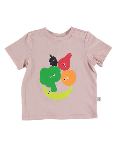 Fruit & Vegetable Graphic Tee, Size 6-36 Months
