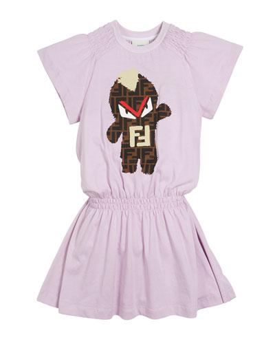 FF Monster Shirred Dress  Size 4-14