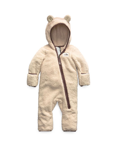 Campshire Sherpa Fleece Hooded Coverall  Size 6-24 Months