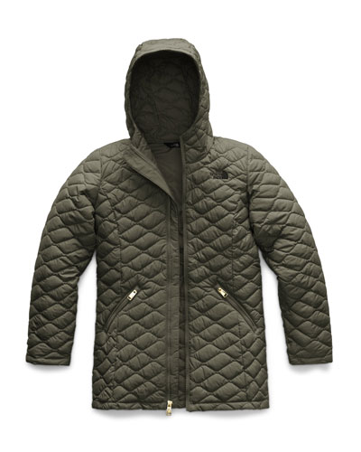 Quilted ThermoBall Hooded Parka, Size XXS-XL