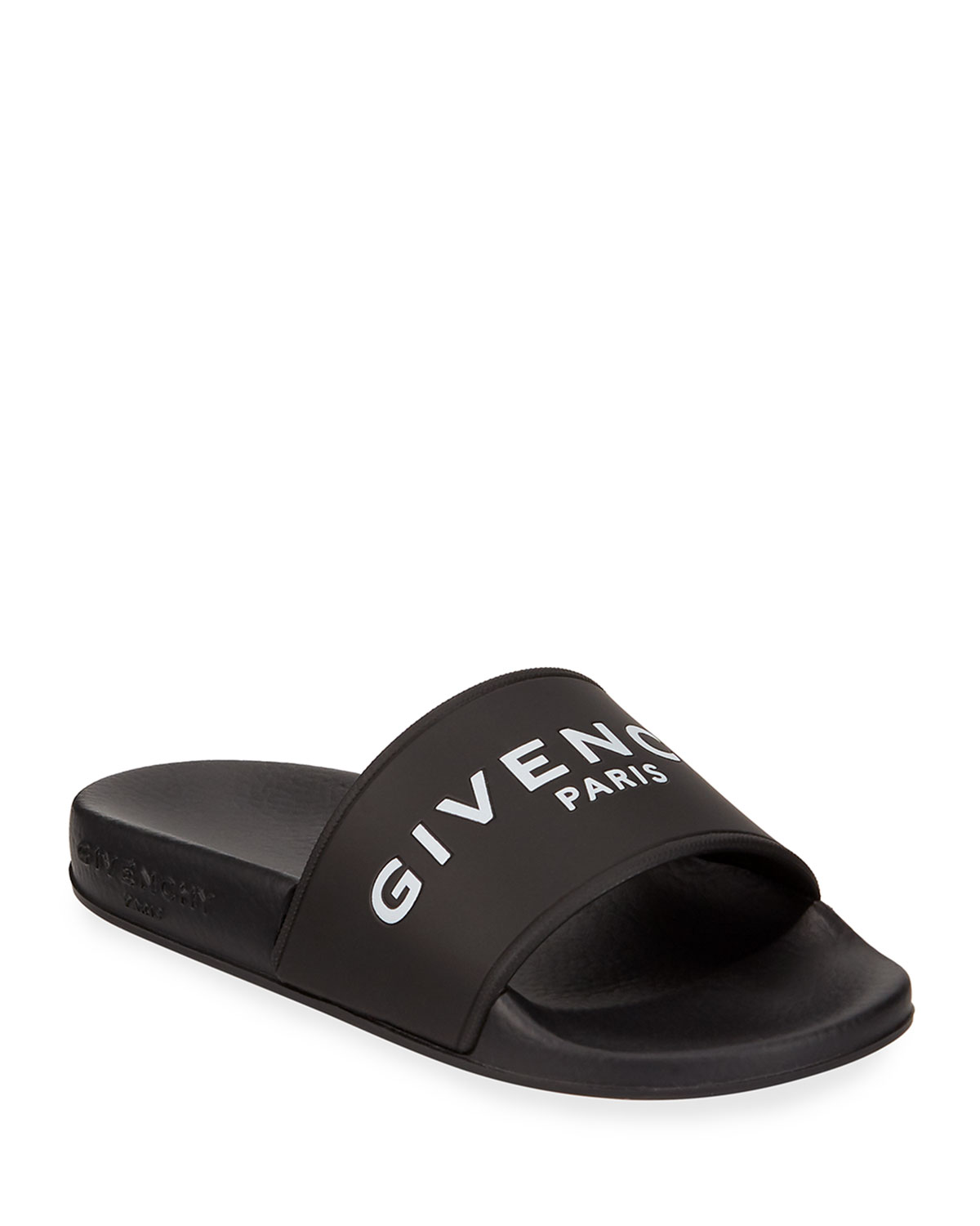 9f1b0091d920 Givenchy girls logo pool slide sandals toddler neiman marcus jpg 1200x1500 Givenchy  slide sandals