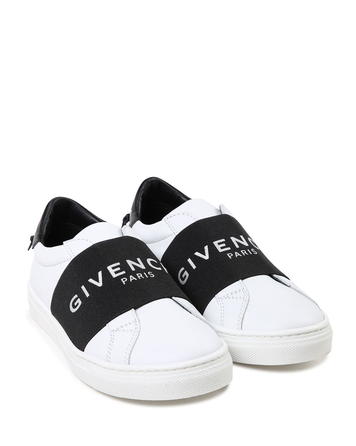 64f65b6484c0 Givenchy Two-Tone Logo Band Sneakers