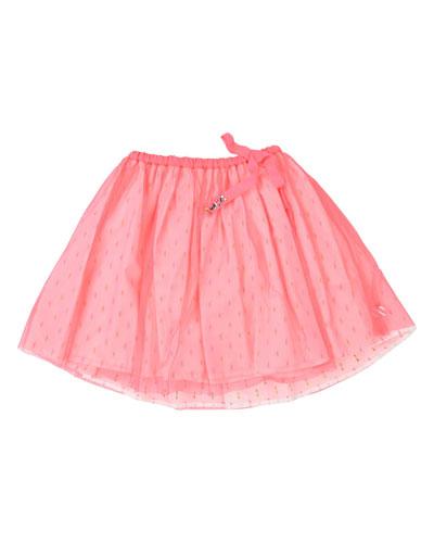 Printed Underlay Tulle Skirt  Size 4-12