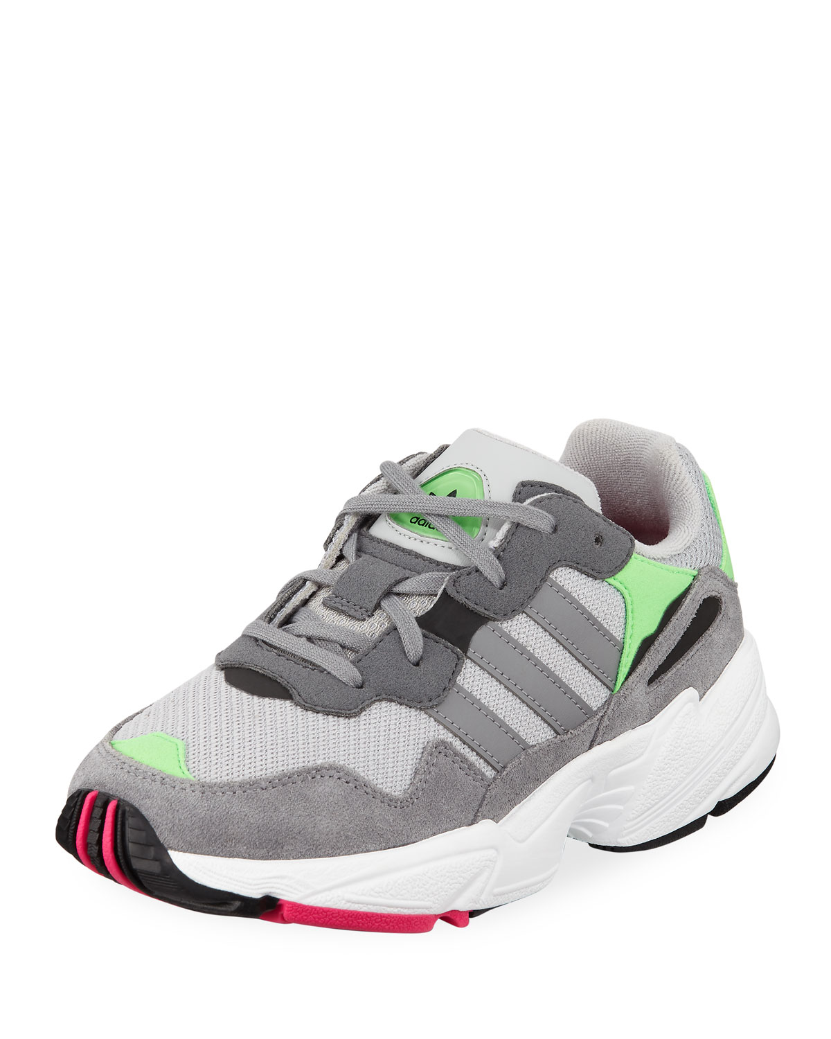 official photos dbbb0 a5b4c AdidasYung-96 Colorblock Sneakers, Kids