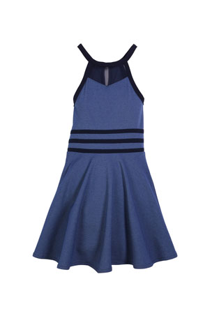Sally Miller The Bella Halter Flare Dress, Size S-XL