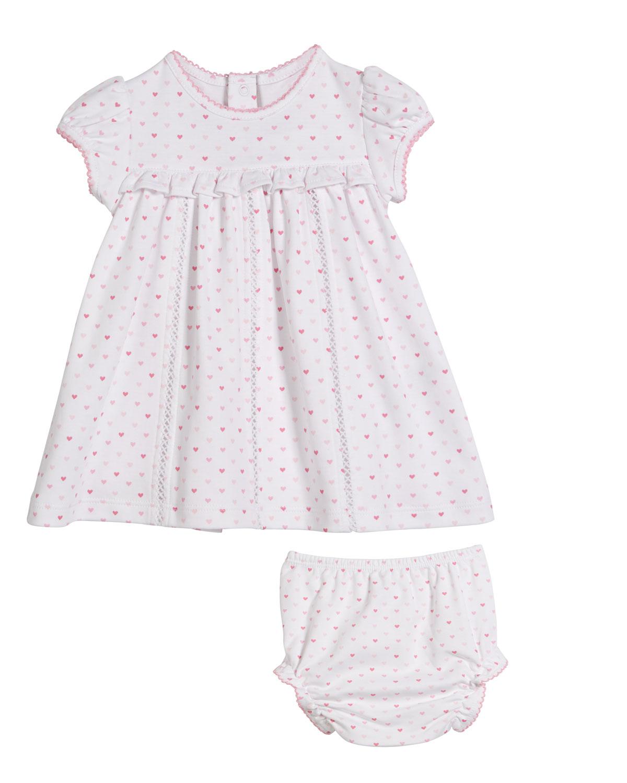 c09b4603e996 Kissy Kissy Princess Castle Printed Dress w  Matching Bloomers