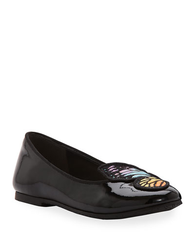 Bibi Butterfly Patent Leather Flats  Toddler/Kids