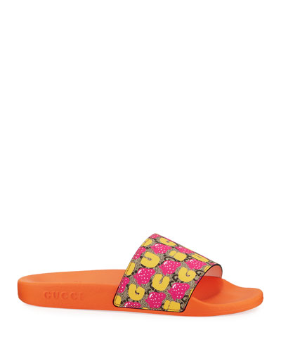 Pursuit Strawberry Slide Sandals  Kids