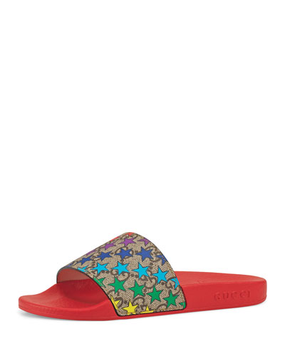 Star-Print GG Supreme Slide Sandals  Toddler/Kids