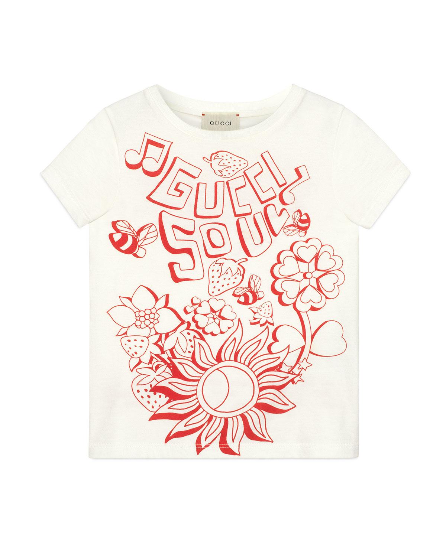35e8ddf483a Gucci Gucci Soul   Love Short-Sleeve T-Shirt